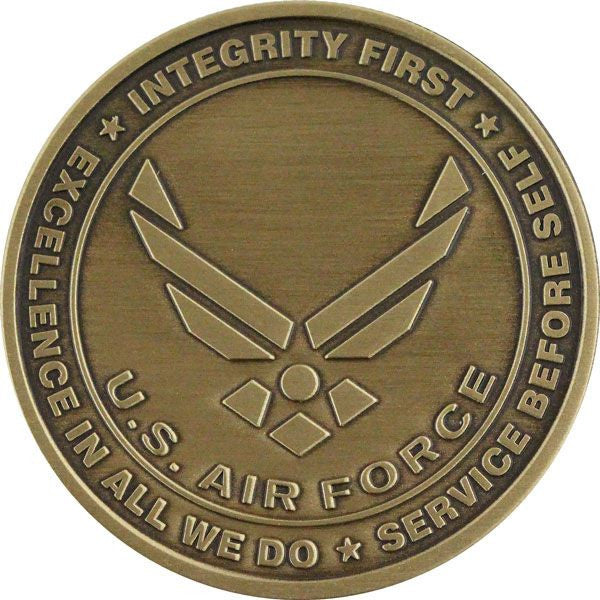 U.S. Air Force Hap Arnold Wing Custom Engravable Coin Front