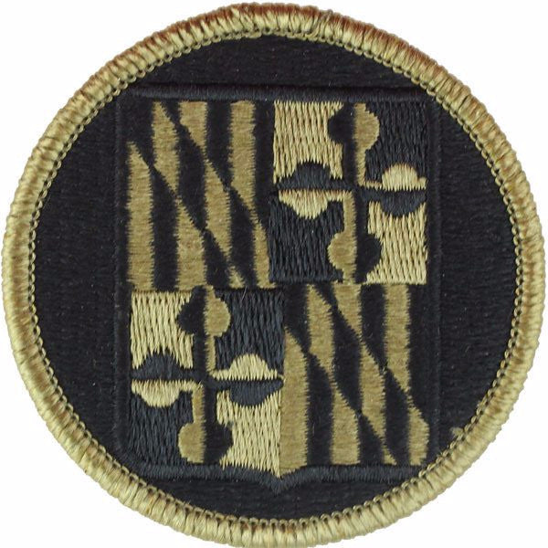 Maryland National Guard MultiCam (OCP) Patch