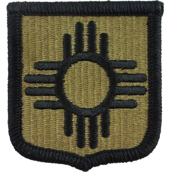 New Mexico National Guard MultiCam (OCP) Patch