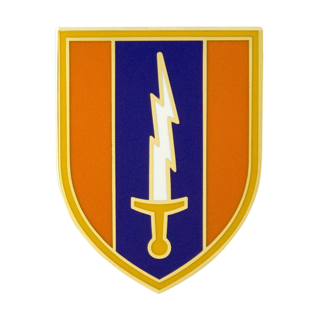 1st Signal Brigade Combat Service Identification Badge