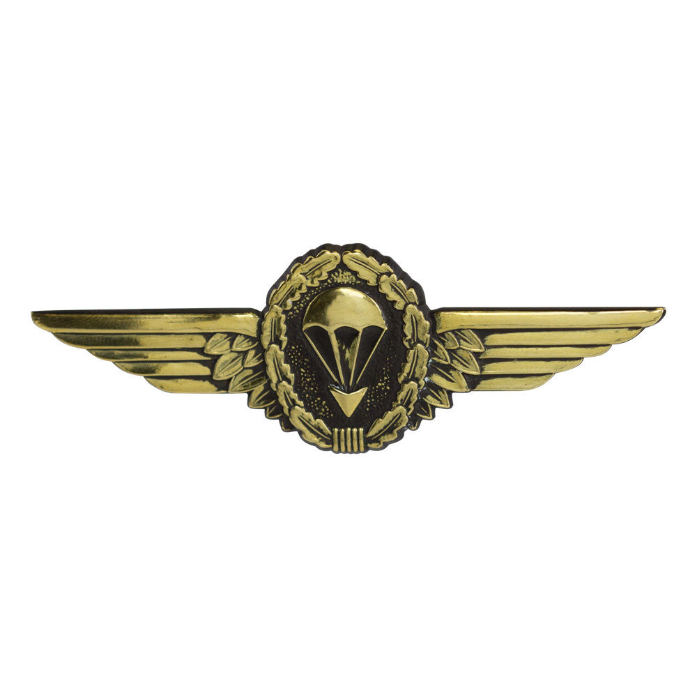 German Jump Wings - Oxidized Gold