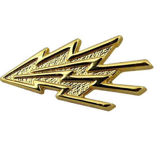 Navy Communication Technician Collar Device - Gold