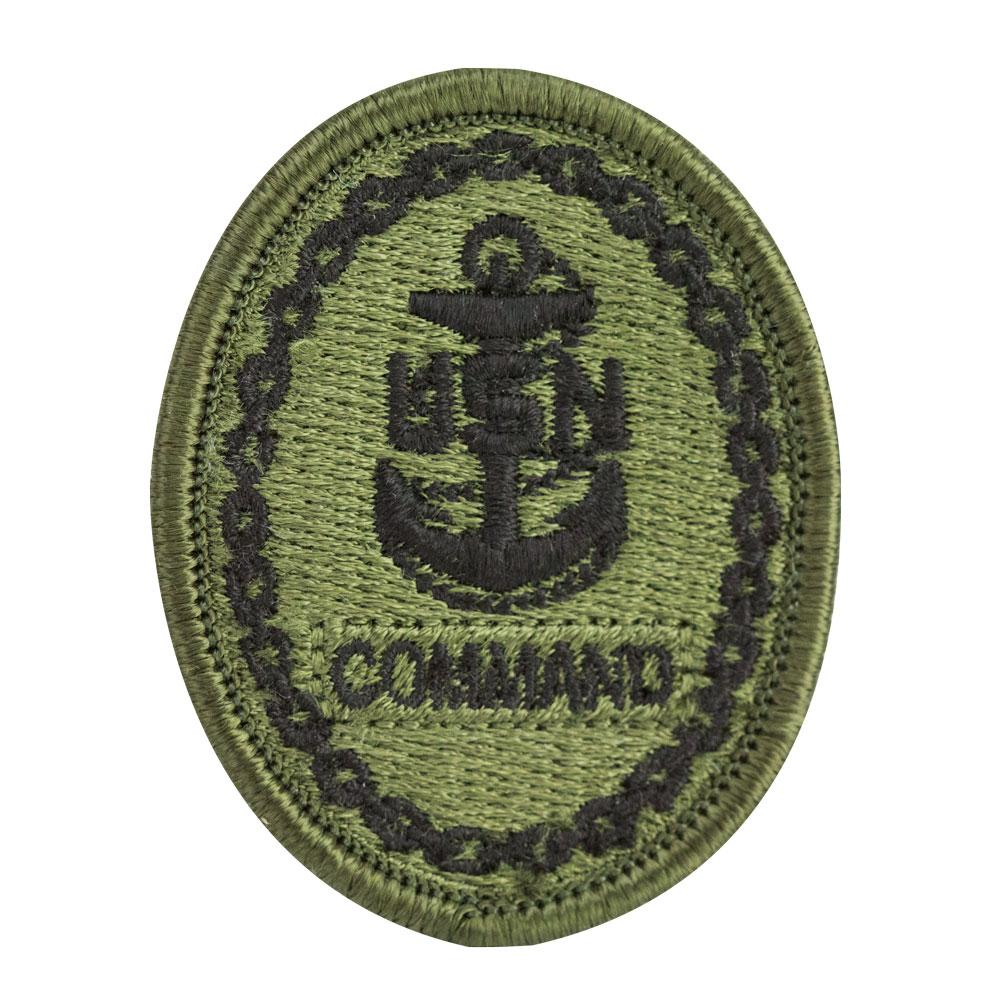 Navy Embroidered Woodland Digital Badges