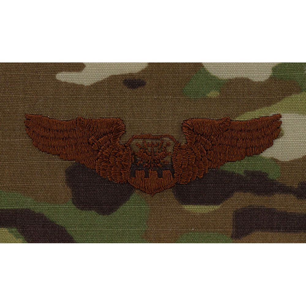 Air Force Navigator Badges Embroidered - OCP