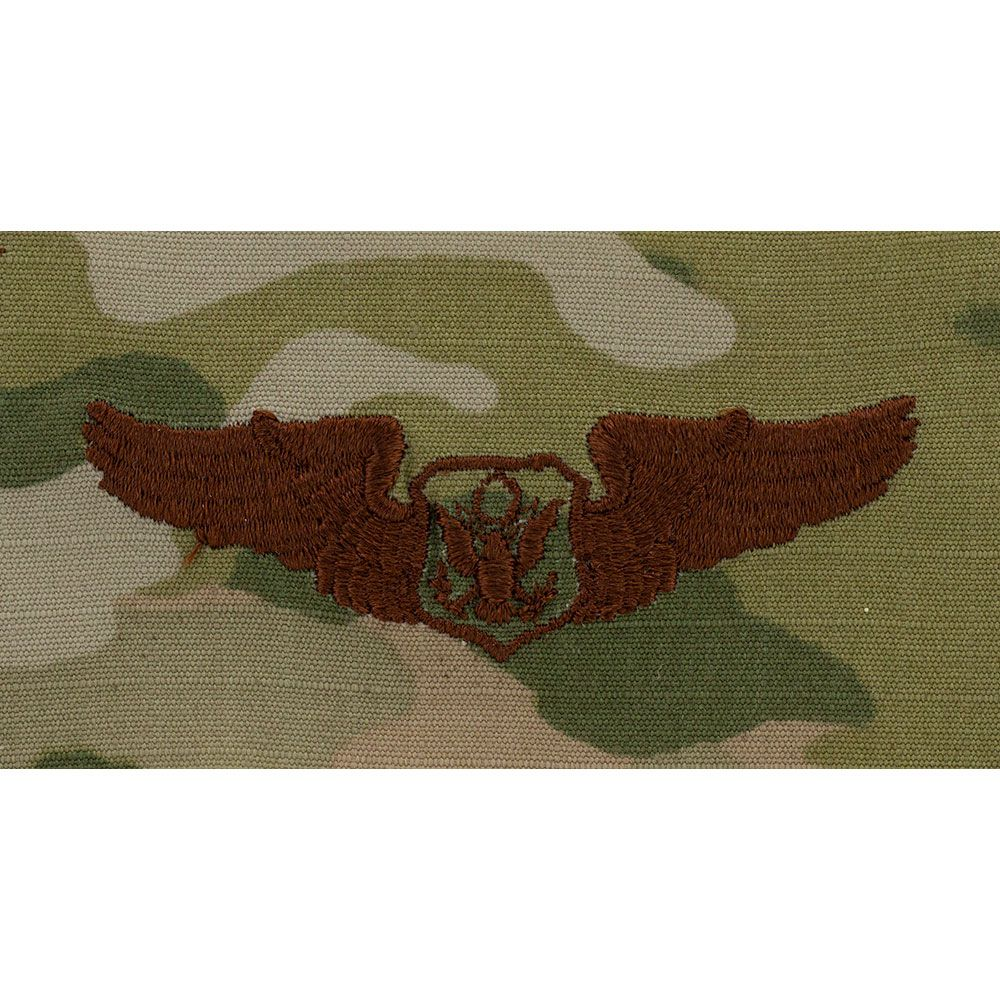 Air Force Non Rated Aircrew Badges Embroidered - OCP