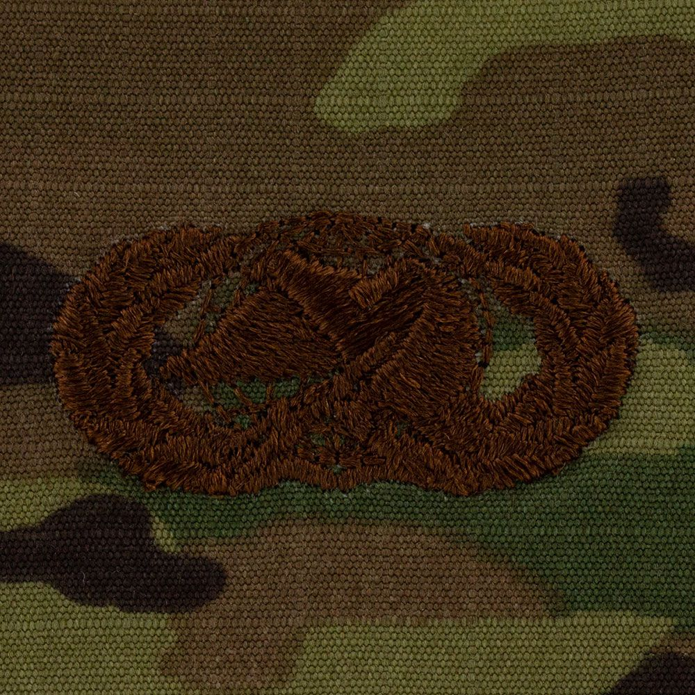 Air Force Logistics Badges Embroidered - OCP