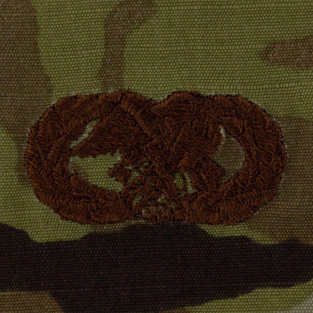 Air Force Logistics Readiness Badges Embroidered - OCP
