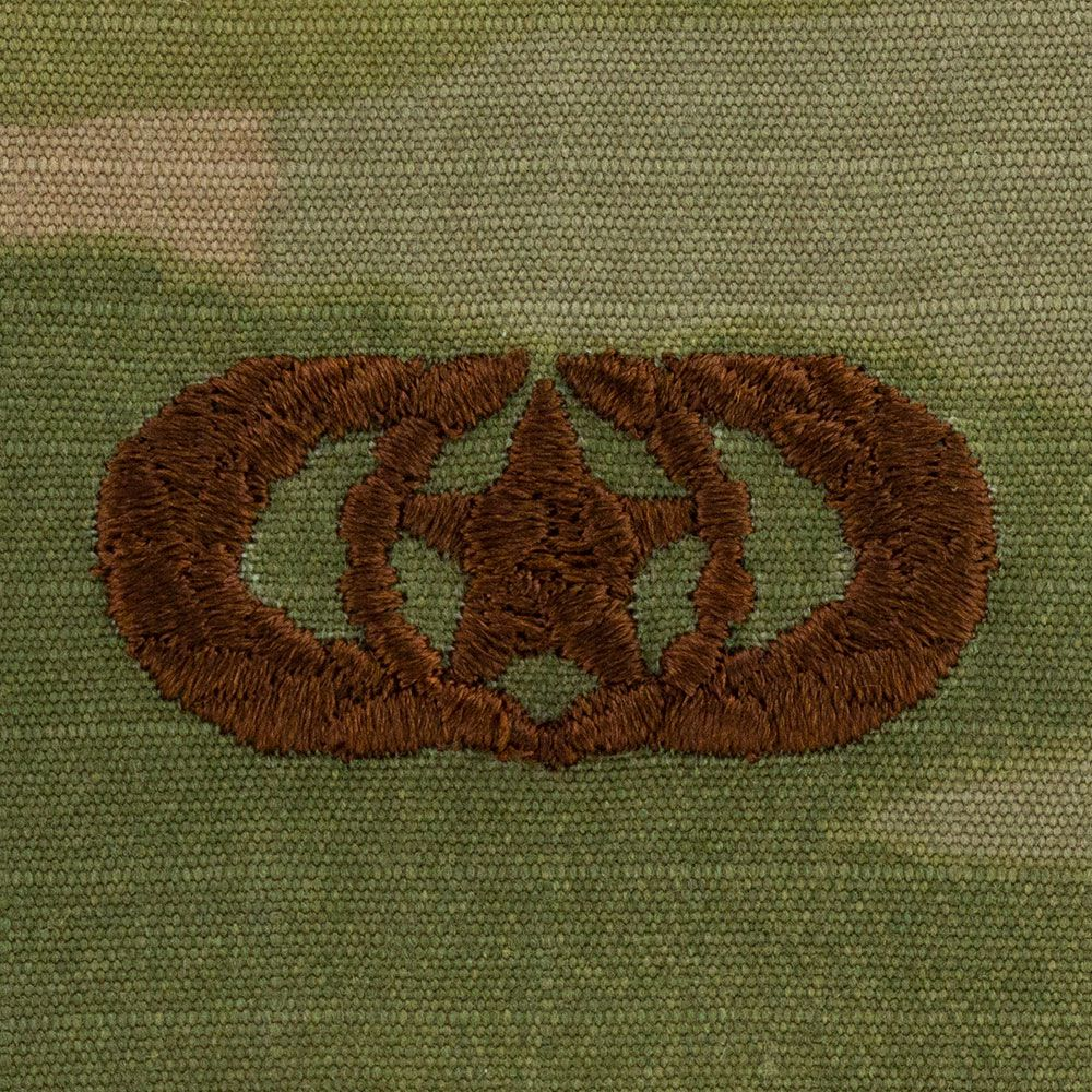 Air Force Safety Badges Embroidered - OCP