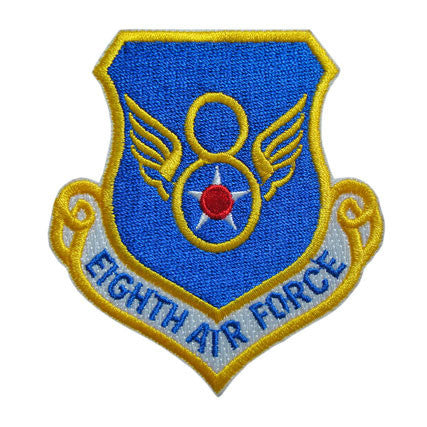 8th Air Force Command Full Color Patch