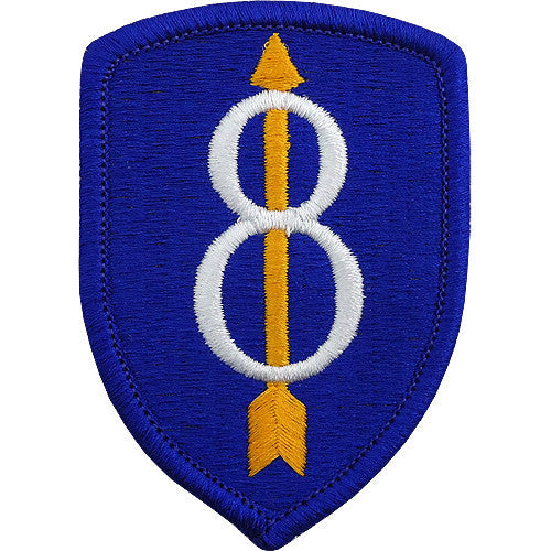 8th Infantry Division Class A Patch