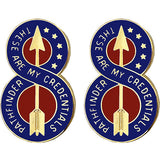 8th Infantry Division Unit Crest (These Are My Credentials)