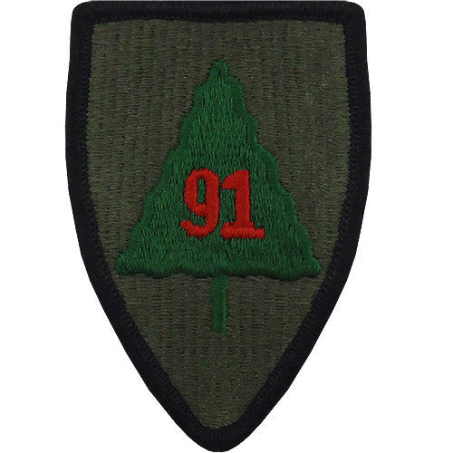 91st Infantry Division Class A Patch