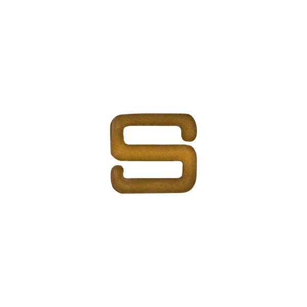 Bronze Letter S Device