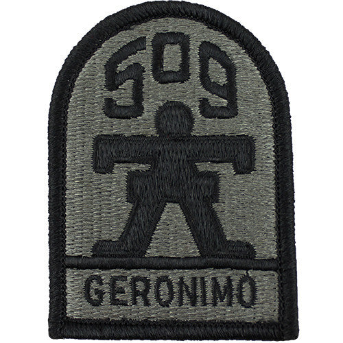 509th Infantry (Geronimo) ACU Patch