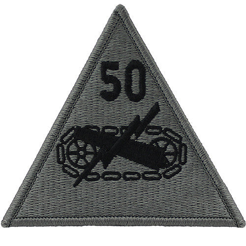 50th Armored Division ACU Patch
