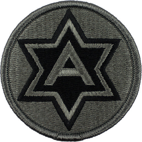 6th Army ACU Patch