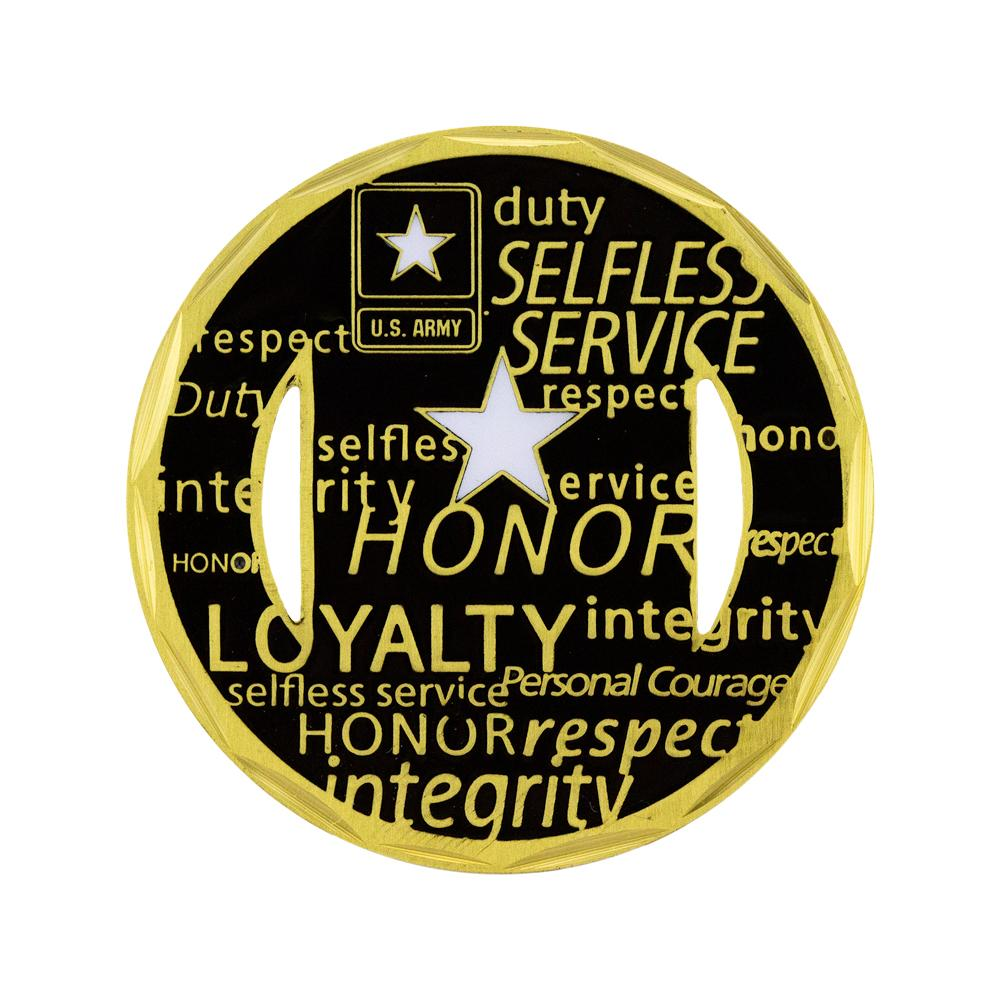 U.S. Army Core Values Coin