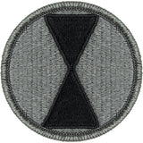 7th Infantry Division ACU Patch