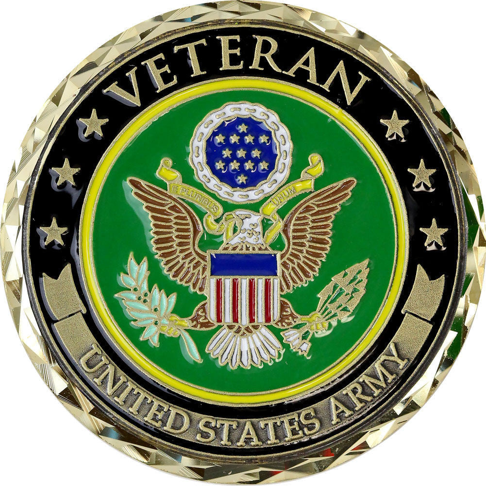U.S. Army Veteran Coin - Front