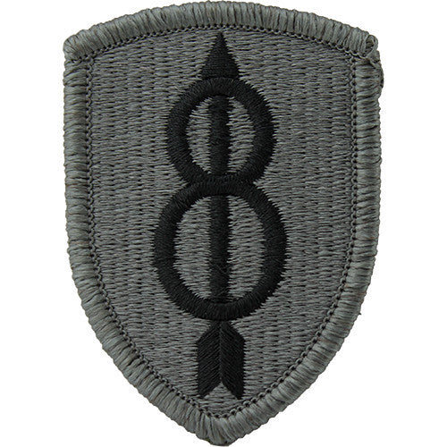 8th Infantry Division ACU Patch