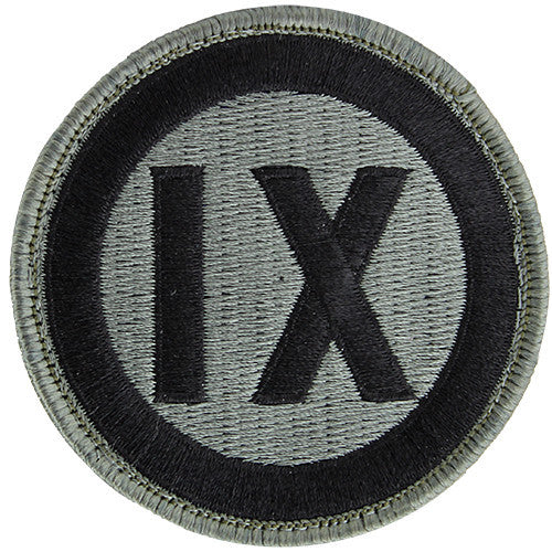 9th Corps ACU Patch