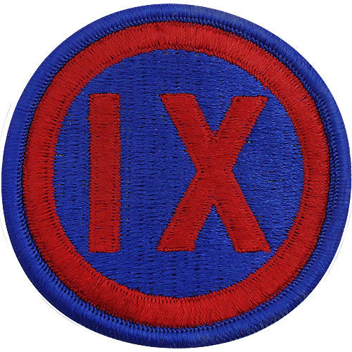 9th Corps Class A Patch
