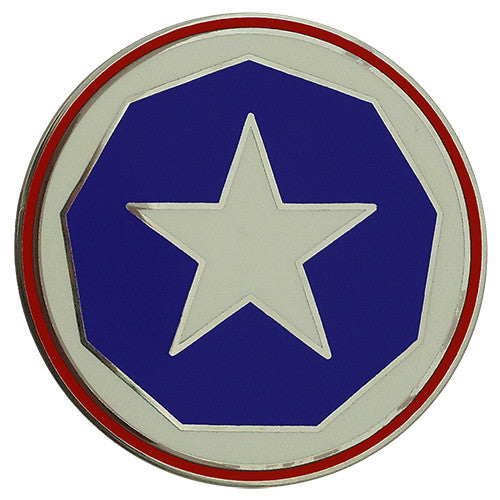 9th Support Command Combat Service Identification Badge