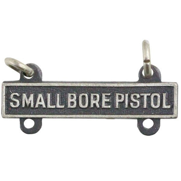 Small Bore Pistol Bar - Silver Oxidized