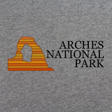 Retro 80's Arches National Park T-Shirt