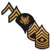 Army Dress Blue (Gold on Blue) Enlisted Rank - Male Size