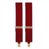 Dress Suspenders With Metal Clips - Artillery
