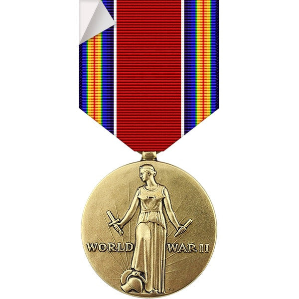 World War II Victory Medal Sticker