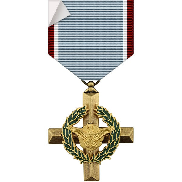 Air Force Cross Medal Sticker