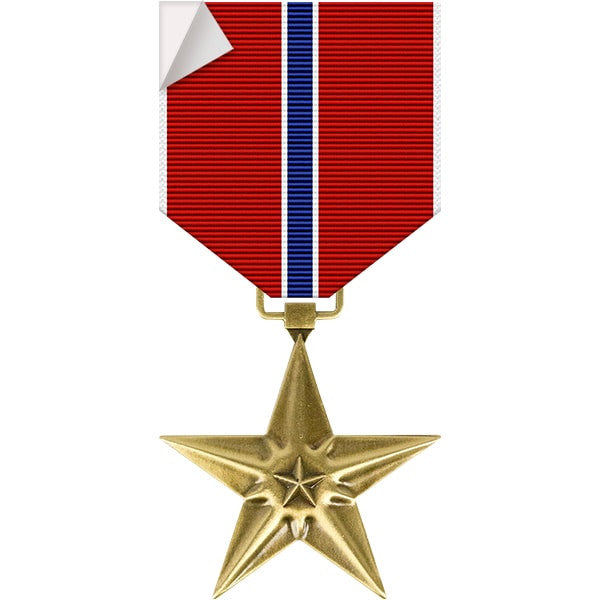 Bronze Star Medal Sticker