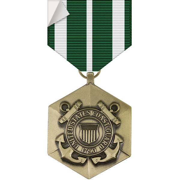 Coast Guard Commendation Medal Sticker