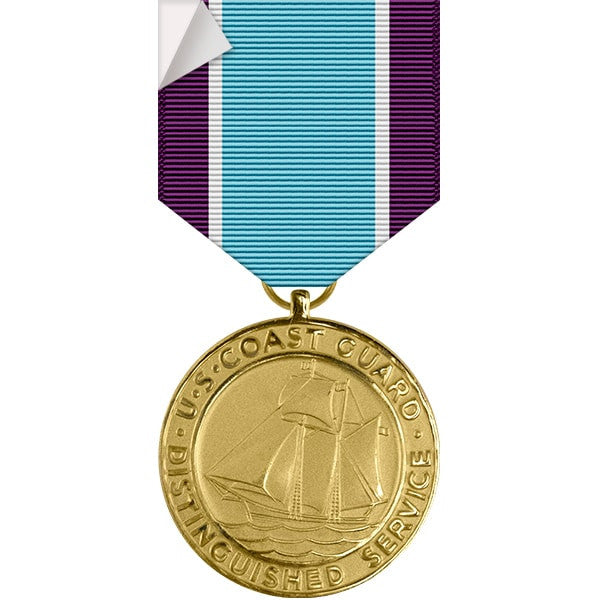 Coast Guard Distinguished Service Medal Sticker