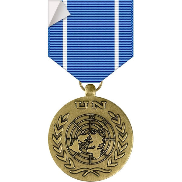United Nations Medal Sticker
