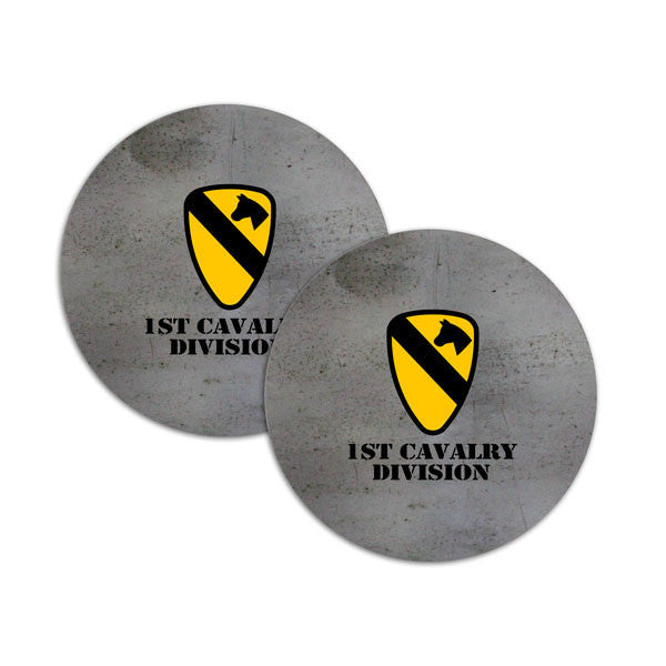 1st Cavalry Division Coasters