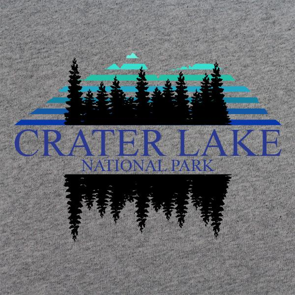 Retro 80's Crater Lake National Park T-Shirt