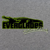 Retro 80's Everglades National Park T-Shirt Variant