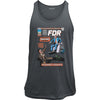 FDR Fights the Fuhrer Vintage Comic Cover Tank Top
