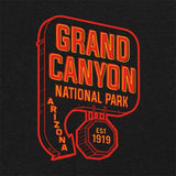 Grand Canyon National Park Neon Sign T-Shirt