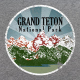 Retro 80's Grand Teton National Park T-Shirt