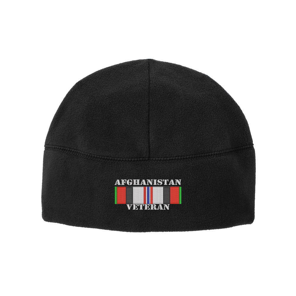 Afghanistan Veteran Fleece Watch Cap Beanie