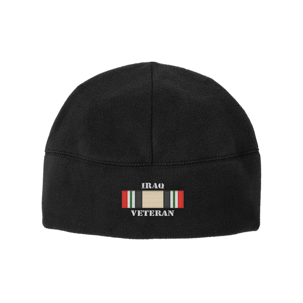 Iraq Campaign Veteran Fleece Watch Cap Beanie