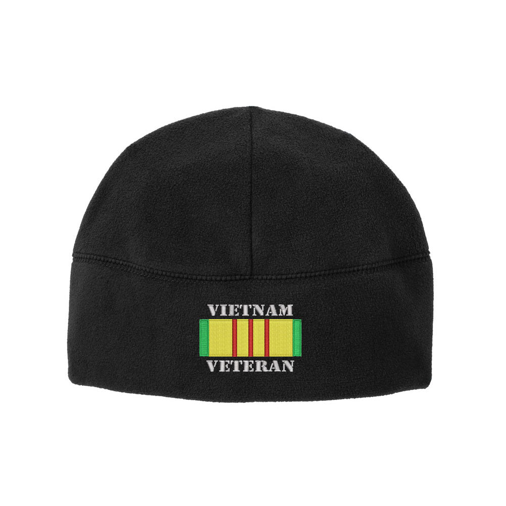 Vietnam Veteran Fleece Watch Cap Beanie