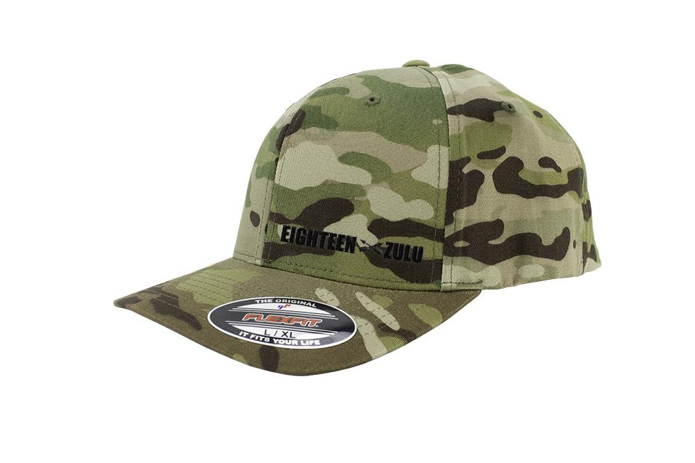 Eighteen Zulu MOS Series FlexFit Multicam Caps