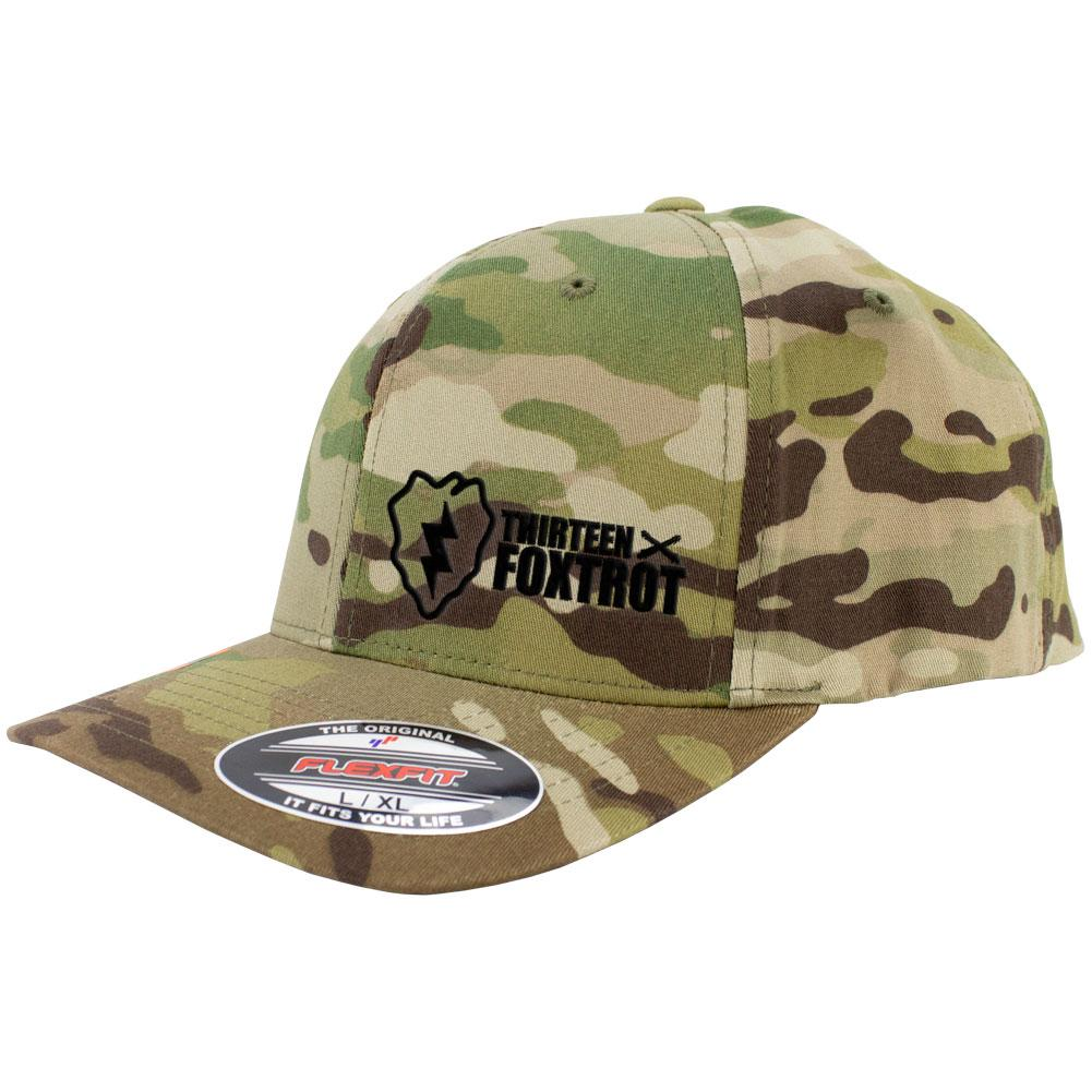 25th Infantry 13 Foxtrot Series FlexFit Caps Multicam