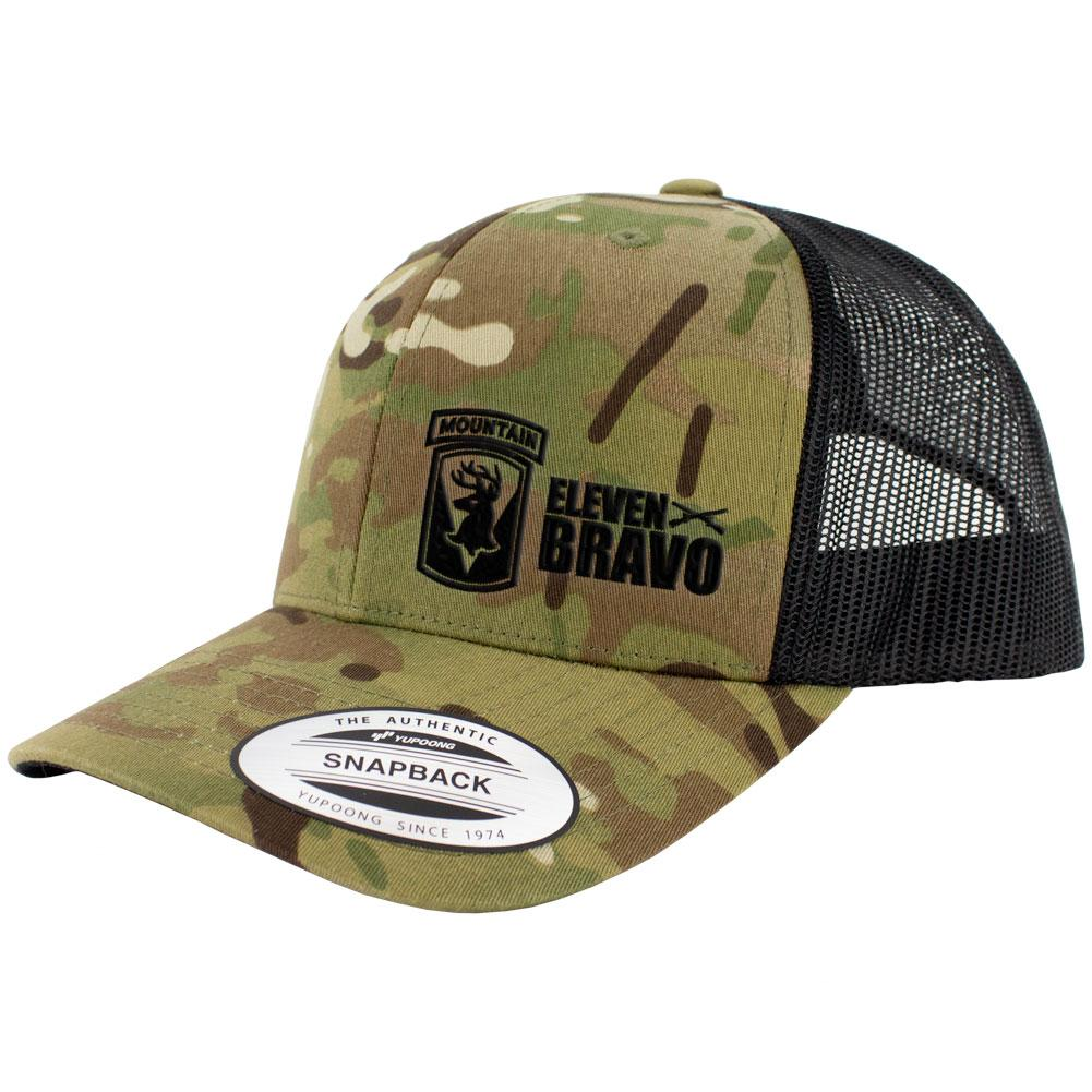 86th Infantry 11 Bravo Series Snapback Trucker Multicam
