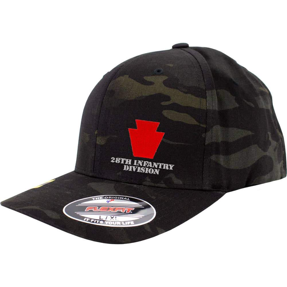 28th Infantry Division FlexFit Caps - Multicam